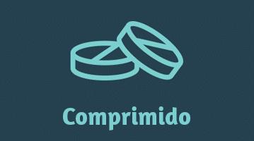 ícone de um comprimido antipulgas