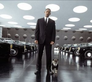 Pug do filme MIB com will smith