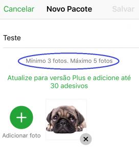 Screenshot passo 4 como criar figurinhas para whatsapp