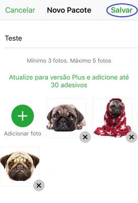 Screenshot passo 5 como criar figurinhas para whatsapp